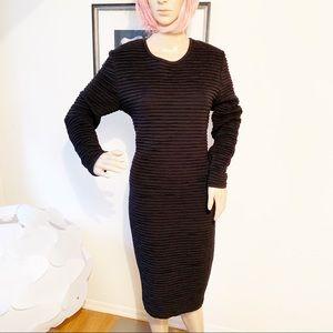 Valentino Dresses - Valentino Pleated Dress Velvet Back Bow Detail 12